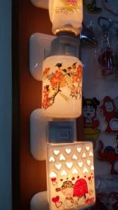 Lampu imut kalo dipasang :D