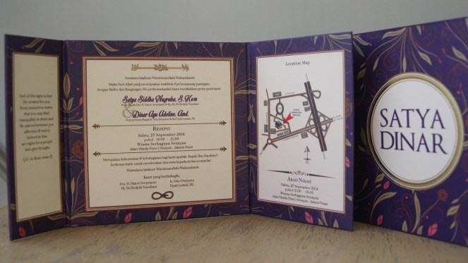 Inside the invitation ;)