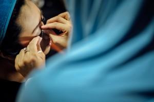 Make up oleh mba @dhaniemakeup (cek instanya deh, makeupnya okidoki beraaat)